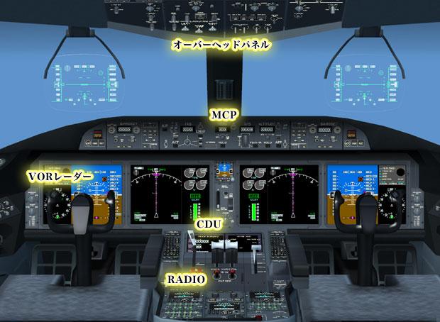 パイロットストーリー787インテリジェントコックピット